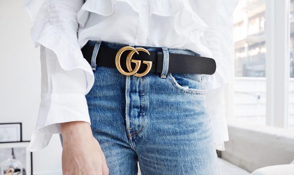 Gucci riem trend