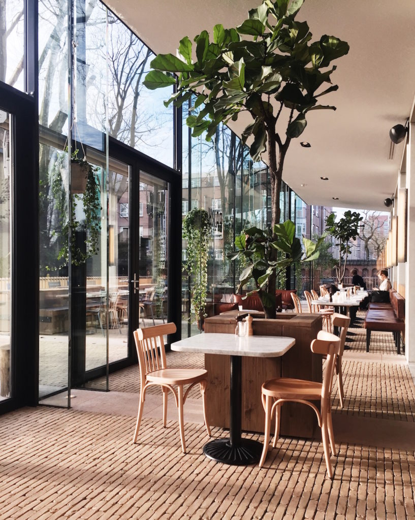 park cafe restaurant amsterdam