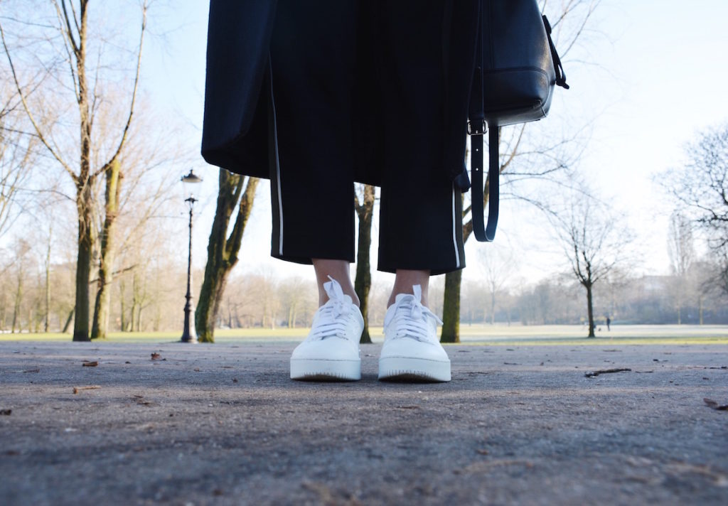 mason garment sneakers