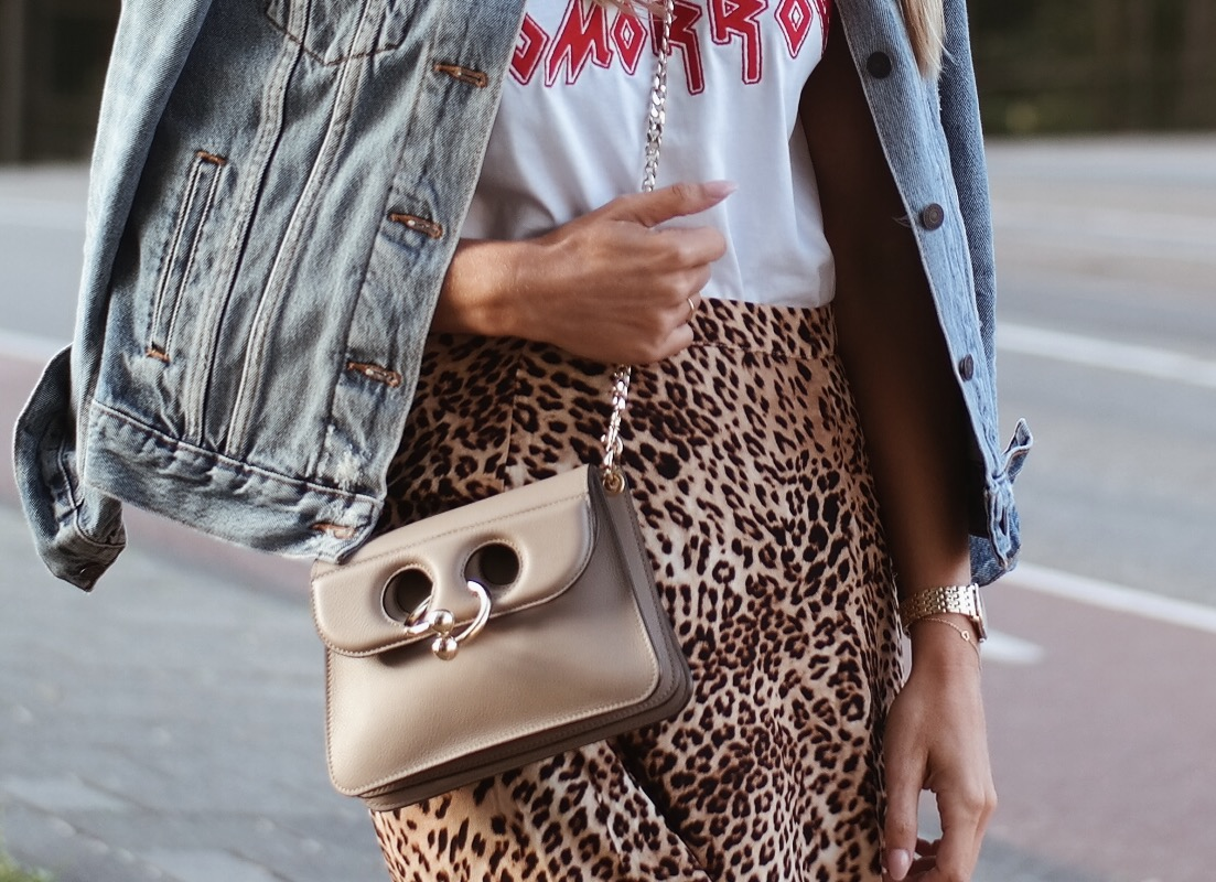leopard skirt gestuz