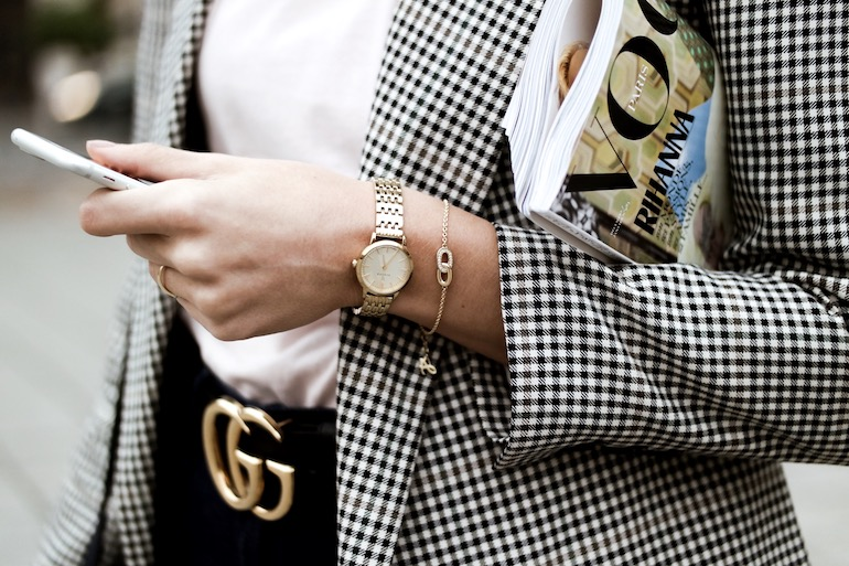 renard elite horloge goud